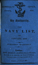 By Authority  The Navy List Corr  to the End of December  etc   Published Quarterly