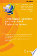 Technological Innovation for Cloud Based Engineering Systems