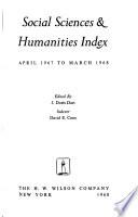 Social Sciences & Humanities Index