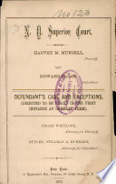 N  Y  Superior Court Book