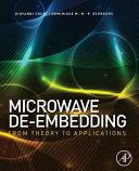 Microwave De Embedding Book