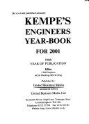 Kempe s Engineers Year book