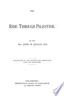 The Ride Through Palestine
