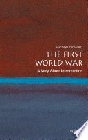 The First World War A Very Short Introduction