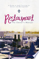 Restaurant  The Owner   s Manual Book PDF