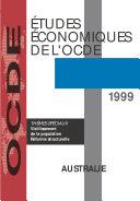 Pdf Études économiques de l'OCDE : Australie 1999 Telecharger