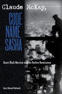 Claude McKay  Code Name Sasha