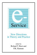 E Service  New Directions in Theory and Practice
