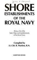 Shore Establishments of the Royal Navy