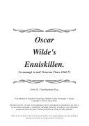 Oscar Wilde's Enniskillen