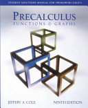 Student Solutions Manual for Swokowski Cole s Precalculus Book