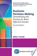 Business Decision Making  Second Edition