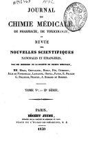 Journal de chimie médicale, de pharmacie et de toxicologie ebook