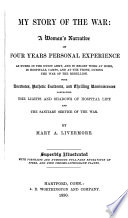 My Story of the War Book PDF