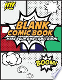 Blank Comic Book Make Your Own Comic Book