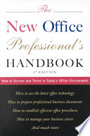 The New Office Professional s Handbook Book