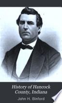 History of Hancock County  Indiana
