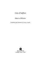 City of Saffron