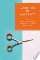 Book cover for Varieties of austerity