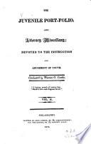 The Juvenile Port folio    Literary Miscellany Book