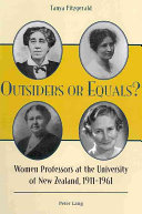 Outsiders Or Equals?: Women Professors at the University of ...