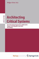 Architecting Critical Systems