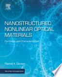 Nanostructured Nonlinear Optical Materials
