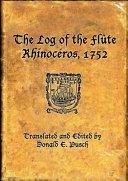 Pdf The Log of the Flûte Rhinocéros, 1752