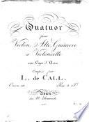 Quatuor pour violon, alto, guitarre et violoncelle avec capo d'astro