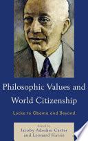 Philosophic Values and World Citizenship