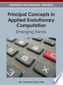 Principal Concepts in Applied Evolutionary Computation  Emerging Trends