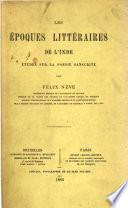 Les époques littéraires de l'Inde