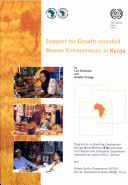 Support for Growth oriented  Women Entrepreneurs in Kenya