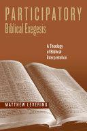 Participatory Biblical exegesis