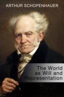 The World as Will and Representation Pdf/ePub eBook