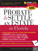 Probate and Settle an Estate in Florida