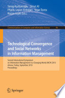 Technological Convergence and Social Networks in Information Management Book