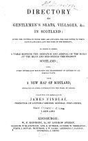 Directory to Gentlemen s Seats  Villages   c  in Scotland