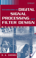 Introduction To Digital Signal Processing And Filter Design Book PDF