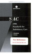 Sac 1998 Standards for Ambulatory Care