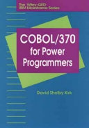 COBOL 370 for Power Programmers Book