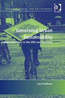Governing Urban Sustainability Pdf/ePub eBook