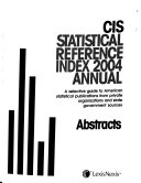 Statistical Reference Index     Annual Book