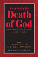 Pdf Resurrecting the Death of God