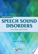 Speech Sound Disorders Book