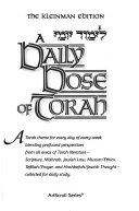 A Daily Dose of Torah  Chayei Sarah Vayishlach