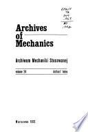 Archives of Mechanics