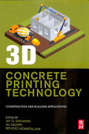 3D Concrete Printing Technology