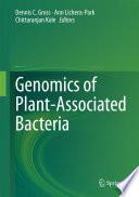 Genomics Of Plant Associated Bacteria Book PDF