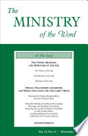 The Ministry Of The Word Vol 23 No 11